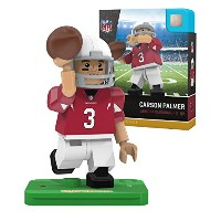 NFL Arizona Cardinals gen4 Limited Edition Carson Palmer Mini Figure、スモール、ホワイト