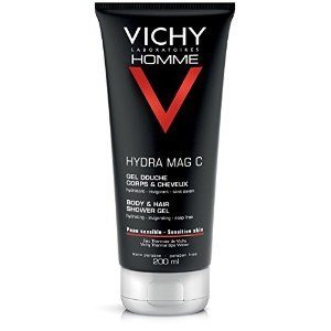VICHY HOMME Hydra Mag C Gel Douche Hydratant Corps et Cheveux (200 ml)