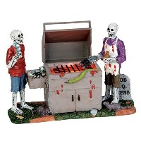 Lemax Spooky Town Gory Grillin電池式# 54912