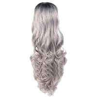 Zhhlaixing 高品質の Elegant Women's Fashion Party Synthetic Wigs - Lace Long Curly Wigs RM-Q-001