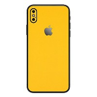 wraplus for iPhoneX [イエロー] スキンシール 背面 フィルム 保護 シール