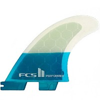 FCS エフシーエス フィンFCS II Performer PC Teal Tri Set PC-PERFORMER-TRI TEL S