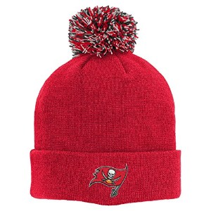 NFL Youth Boys 8–20Basic Cuff Knit with Pom レッド