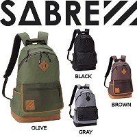 SABRE 2014秋冬 NST(NEW STANDARD) DAYPACK バックパック リュックサック バッグ 鞄 24リットル OLIVE