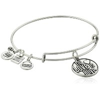 Alex and Ani Charity by Design My Love Is Aliveバングルブレスレット One Size