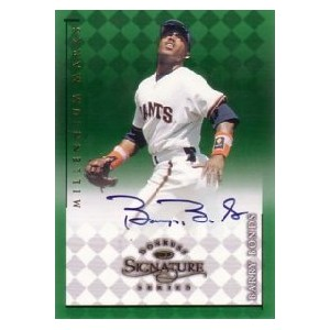 Barry Bonds 1998 Donruss Signature Autographs Millennium 400枚限定!