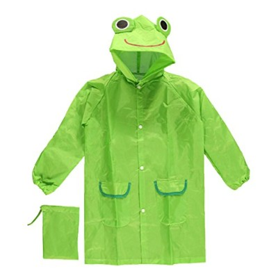 Cloudnine Children's Froggy Raincoat, for ages 5-12 One size fits all by Cloudnine Umbrellas