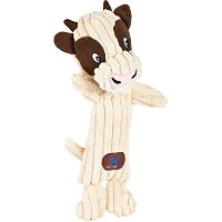 Charming Pet Heads Pet Squeak Toy, Cow (Discontinued by Manufacturer) by Charming