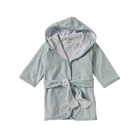 Burt's Bees Baby Organic Knit Terry Hooded Infant Robe, Sky by Burt's Bees Baby