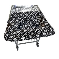 Jj Cole Shopping Cart Cover Black Floret by JJ Cole