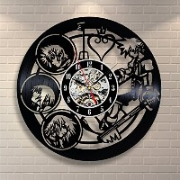 Kingdom Hearts Wall Art Vinyl Record Clock Home Decor - Win a prize for feedback