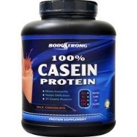 BodyStrong 100% カゼインプロテイン (100% Casein Protein) (チョコレート, 2.27kg)
