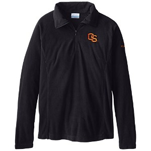 NCAA Oklahoma State Cowboys Collegiate Glacial II Half Zip Fleece Jacket XL ブラック
