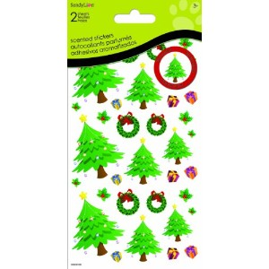Sandylion Christmas Tree Scented Stickers for Scrapbooking by Sandylion