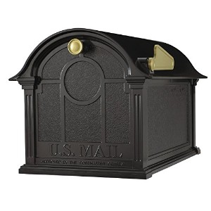 Whitehall Products Balmoral Mailbox, Black by Whitehall