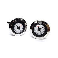 Real Working Compass Cufflinks