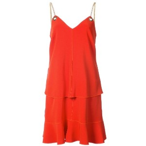 Derek Lam 10 Crosby - 2-In-1 Cami Dress With Flounce Skirt - women - トリアセテート/Synthetic Enamel - 8