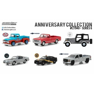 1/64 Anniversary Collection - SERIES 6 6個入りアソート[グリーンライト]《02月仮予約》