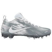 ナイキ メンズ ラクロス シューズ・靴【Nike Vapor Varsity Low LAX】White/White/Cool Grey