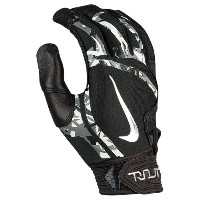 ナイキ メンズ 野球 グローブ【Nike Trout Elite Batting Gloves】Black/Black/Chrome