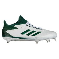 アディダス メンズ 野球 シューズ・靴【adidas adiZero Afterburner 4】Team White/Dark Green
