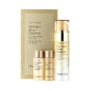 トニーモリー タイムレス発酵スネール/Tonymoly Timeless Ferment Snail Essence Set(Essence 50ml + Toner 20ml + Emulsion...