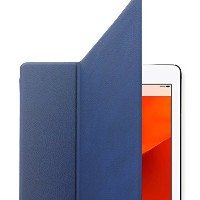 Blue-TrideaーiPad Mini Retina、 2 Ways Standing Folder Case、 iPad mini Retinaディスプレイモデル専用高級ケース...