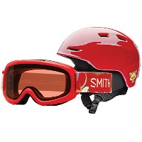 Smith Optics Zoom Jr。/ Gamblerコンボ レッド