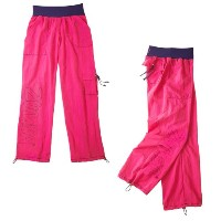 Zumba (ズンバ) Logo Cargo Pants, Purple [並行輸入品]
