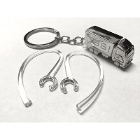 BSI 2pcs Clear Earhooks (with metal wire) for Plantronics Explorer 500 Wireless Mobile Bluetooth...