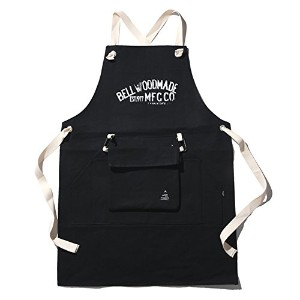 BELLWOODMADE(ベルウッドメイド) THE APRON BLACK DENIM BWTABDM2015