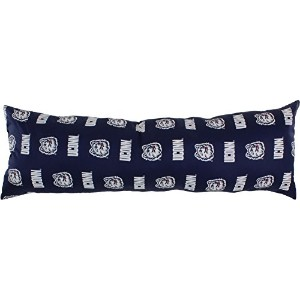 """College Covers Connecticut Huskies Printedボディ枕、20"""" x 60"""""""