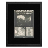 STIFF RECORDS - 78 Be Stiff Tour With Lene Lovich And Rachel Sweet Framed Mini Poster - 53x43cm