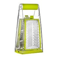 Sunkist SAP3368G Softgrip Grater with 3 Grating Types, Green [並行輸入品]