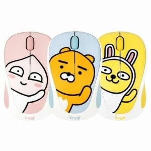 ★[Kakao Friends] Logitech Wireless Mouse M238★ Ryan / Apeach / Muzi / 1000dpi / 24Ghz