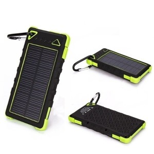 50000mah Portable solar power bank Dual-USB Solar Charger Panel Battery for All Mobile Phone 21252 b