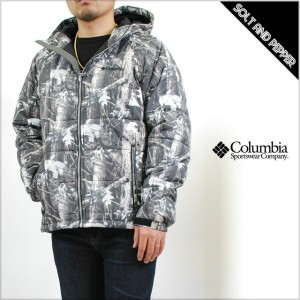 COLUMBIA コロンビア KHUMBU GLACIER HUNTING PATTERNED JACKET TIMBERWOLF COOL GREY キュンブー グレイシャー ハンティング...