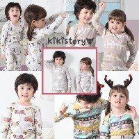2018 NEW★KIKI STORY Pajamas 5types★Made In KOREA/Kids Pajamas sleepwearpants/children/jb_013