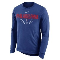 Philadelphia 76ers Nike Practice Fleece Performance Sweatshirt メンズ Royal ナイキ スウェットシャツ NBA バスケ...