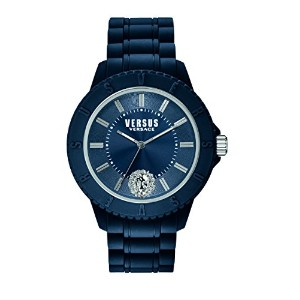 Versus by Versace Men 's soy050015 Tokyo Analog Display Quartz Blue Watch