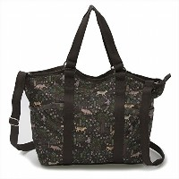 LeSportsac レスポートサック トートバッグ 9811 SMALL CARRYALL FOREST FRIENDS D975 [並行輸入商品]