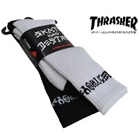 THRASHER スラッシャー Skate And Destroy 2PACK SET ソックス USA企画