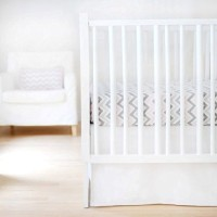 New Arrivals Sweet and Simple Crib Bedding Set, White, 2 Piece by New Arrivals [並行輸入品]