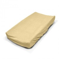 Kidiway Plush Changing Pad Cover, Beige by Kidiway