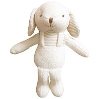 (Lovely Puppy)100% Certified Organic Cotton Baby First Doll 11 inches (No Dyeing) by JOHN N TREE...