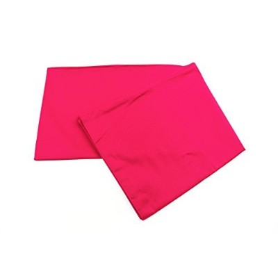 SET of 2 - Toddler Pillow Pillowcase - Hypoallergenic (Fuchsia) by MoonRest