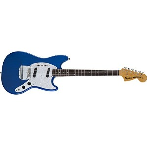 Fender エレキギター MIJ Traditional '70s Mustang® Rosewood Sapphire Blue Trans