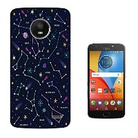 003794 - Constellation Planets Moon Stars Sun Galaxy Map Design Motorola Moto X4 Gel ファッショントレンド...