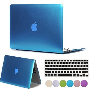 """Macbookケース Old Pro 13""""(A1278) With CD-ROM MACCase-MetallicBlue-Mac13ProCD"""