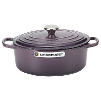 Le Creuset ルクルーゼ SIGNATURE シグニチャー Cocotte Ovale 29 cm ココットオーバル Cassis カシス 両手鍋 新生活 [並行輸入品]